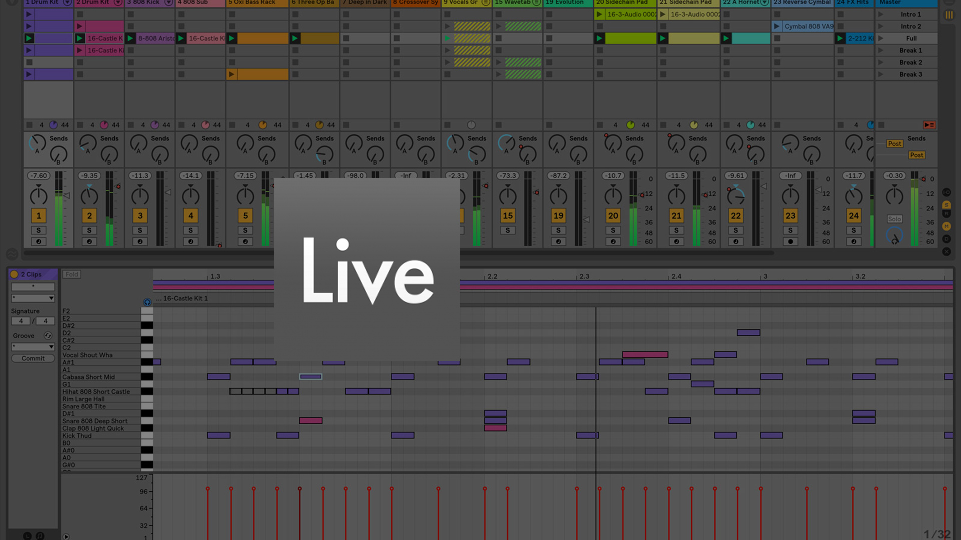 Curso para Uso de Secuencias en Ableton Live®