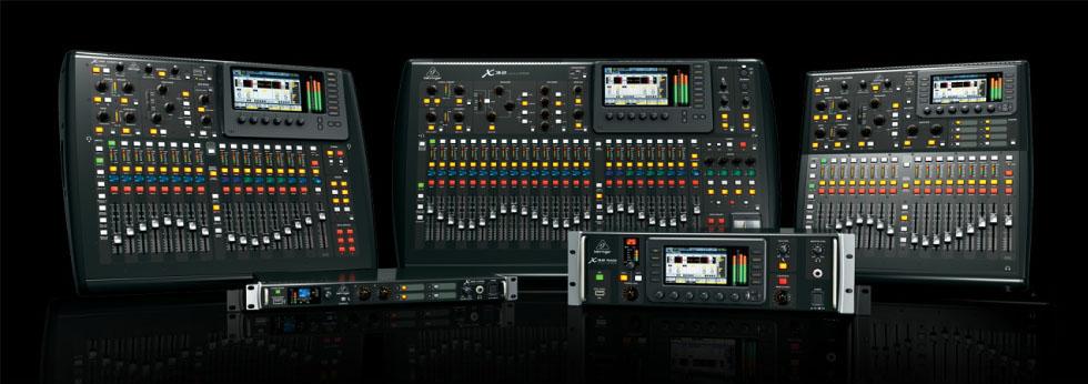 Curso de Audio Consola X32 Behringer®